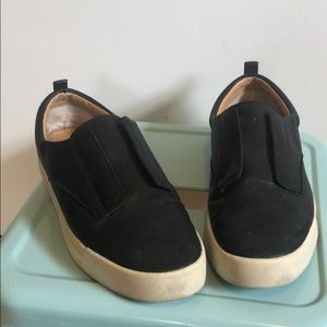 Black Lucky 7.5 sneakers